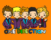 Dibujo One direction pintado por 22042002