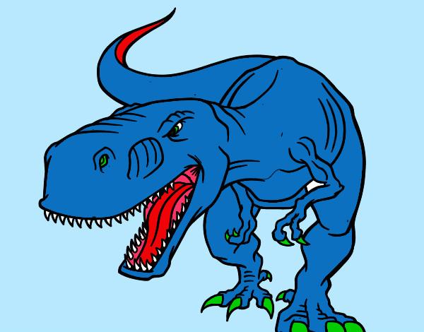 Dibujo De T-rex Pintado Por Puas13 En Dibujos.net El Día