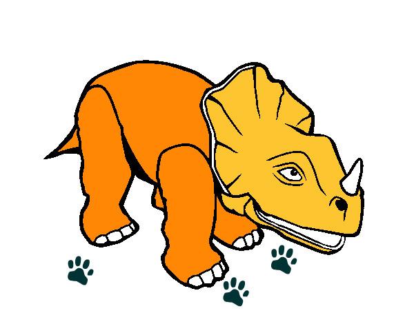 Dibujos De Dinosaurios: Dibujo De Dinosaurio Pintado Por Vicror En Dibujos.net El