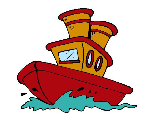 Imagen De Un Barco En Caricatura Caricatura De Barcos Piratas