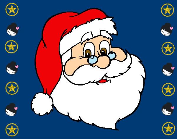 Imagenes De Papa Noel De Navidad.Dibujo De Papa Noel Pintado Por Lomahigu En Dibujos Net El