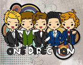 Dibujo One direction pintado por Patricia20