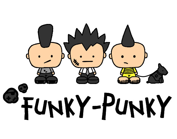 Dibujo de Funky -Punky pintado por Augus04 en Dibujos.net el día 12 ...