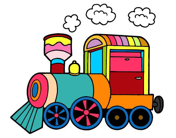 Resultado de imagen de tren dibujo