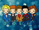 Dibujo One direction pintado por andre_1