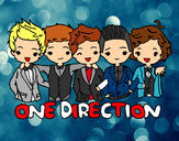 Dibujo One direction pintado por RGar34