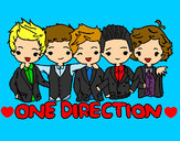 Dibujo One direction pintado por pacita2001