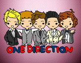 Dibujo One direction pintado por Tinahoran