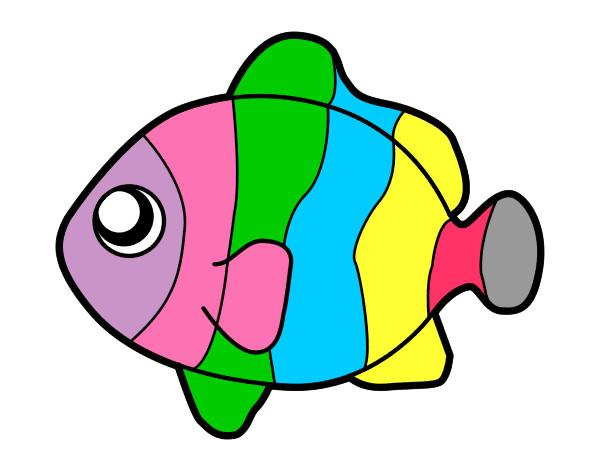 Dibujos De Animales A Color Para Imprimir: Dibujo De Seven Color Pintado Por Glendasans En Dibujos