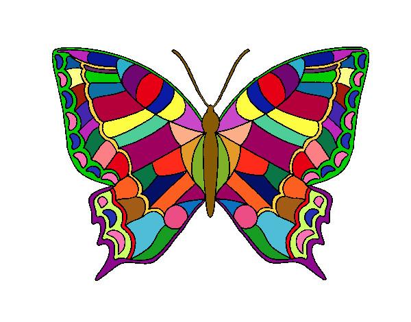 Dibujo De Mariposa 16 Pintado Por Epul En Dibujosnet El Día
