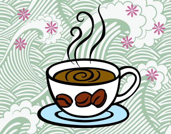 Dibujo De Taza De Café Pintado Por Lauriscus En Dibujosnet