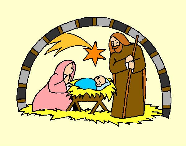 Fotos De El Pesebre De Jesus.Dibujos De Jesus Para Colorear Dibujos Net