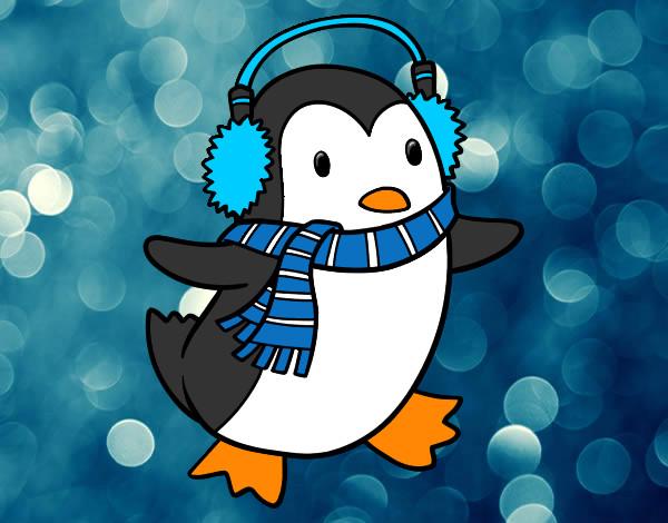 Dibujo De Lindo Y Tierno Pinguino Pintado Por Poncho57 En Dibujos