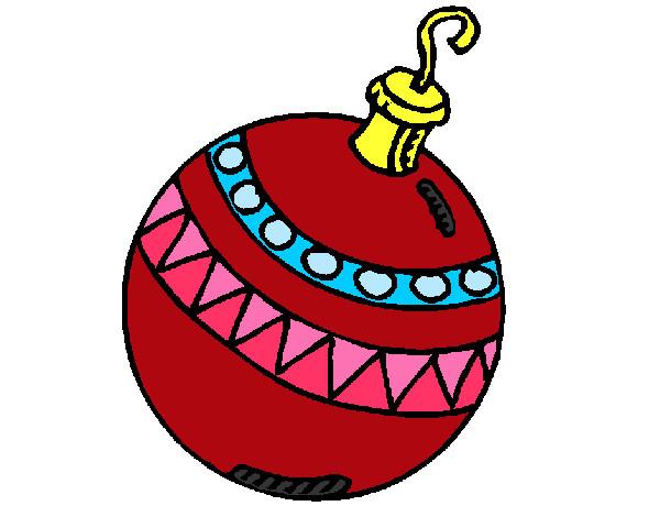 Dibujos de adornos navide os para colorear for Dibujos de navidad bolas