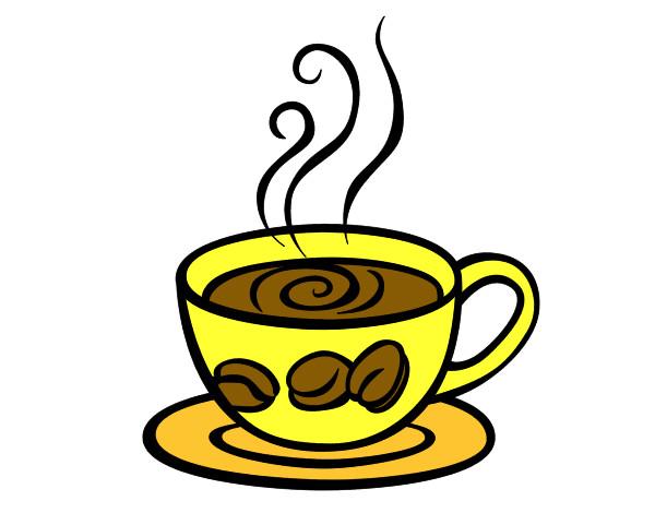 Taza De Cafe Dibujo Png: Dibujo De COFFE Pintado Por Hiikari En Dibujos.net El Día