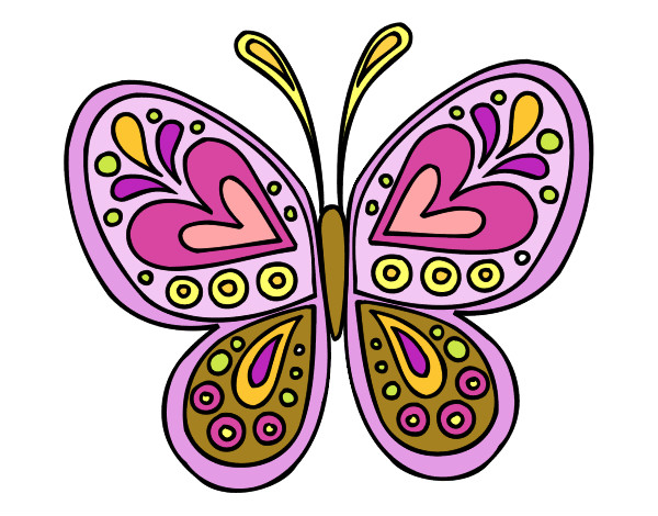 Dibujo De Mariposa De Primavera Para Ti Pintado Por Martinluna En