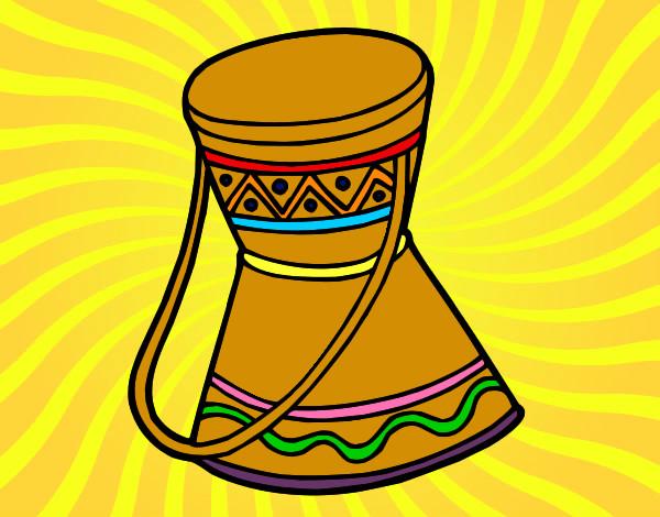 Dibujos De Una Tambora Y Guira: Dibujos De Tambores Para Colorear