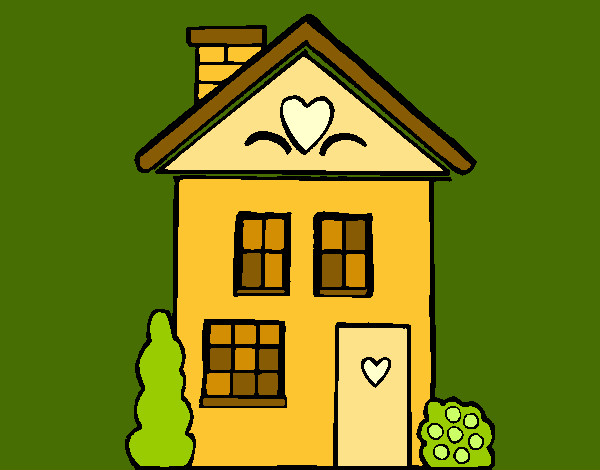 Dibujos De Casas Para Colorear Dibujosnet