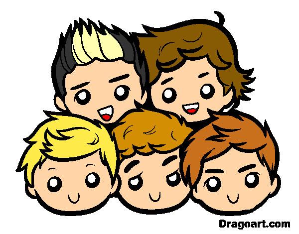 Dibujo De One Direction 2 Pintado Por Michelita1 En Dibujos Net El Día 18 05 13 A Las 02 23 36 Imprime Pinta O Colorea Tus Propios Dibujos