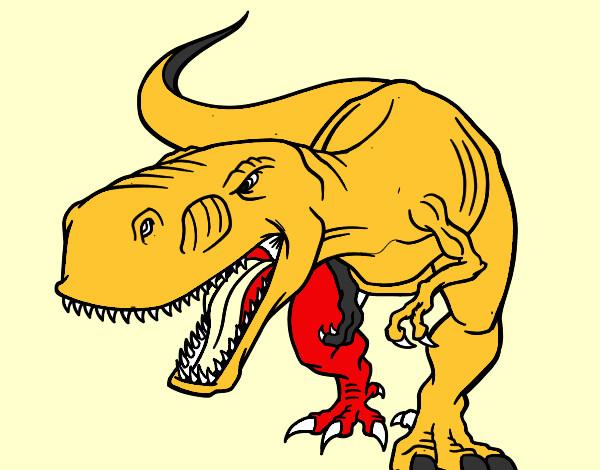 Dibujos De Tiranosaurios Rex Para Colorear Dibujosnet