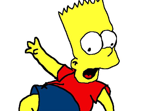 Dibujos De Los Simpson Para Colorear Dibujosnet