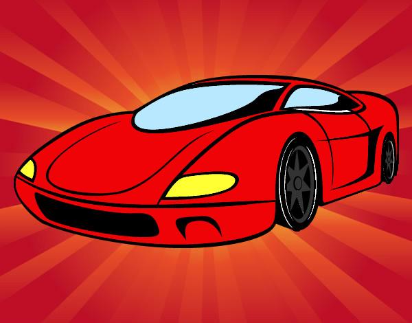 Dibujos De Carros Para Colorear Dibujosnet