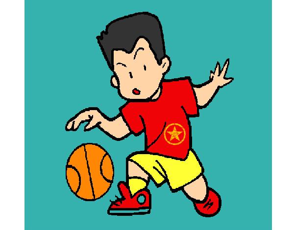 Dibujos De Baloncesto Para Colorear Dibujosnet