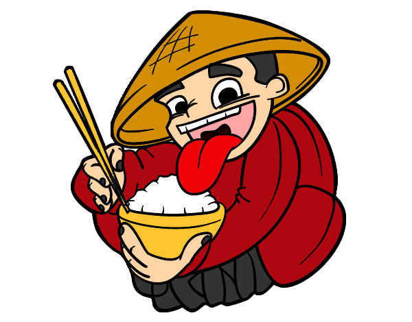 Resultado de imagen de arroz chino dibujo