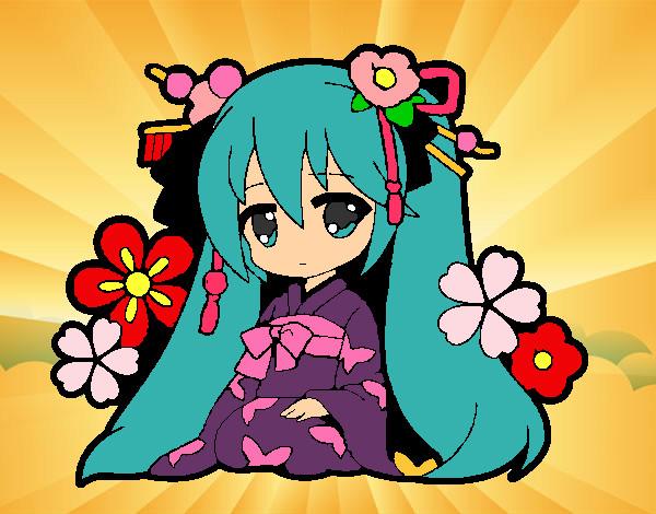 Dibujos De Anime Para Colorear Dibujos Net