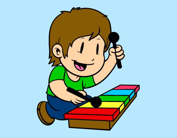 Dibujos De Instrumentos De Percusión Para Colorear Dibujosnet