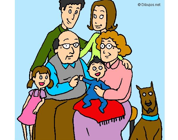 Dibujos De Personas Para Colorear Dibujosnet