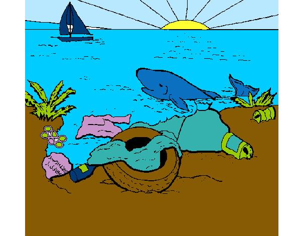 Dibujo De La Contaminacion Pintado Por Daaniii En Dibujosnet El Día