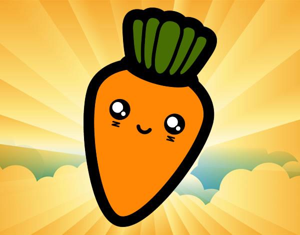 Dibujos De Zanahorias Para Colorear Dibujosnet