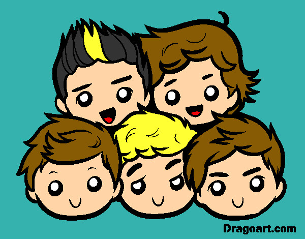Dibujos De One Direction Para Colorear Dibujos Net
