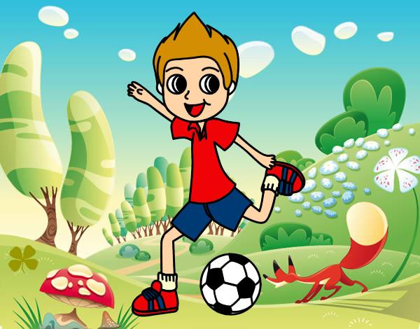 Dibujos Animados De Niños Felices Y Payaso En El Parque: Dibujo De Deportes Pintado Por Katita29 En Dibujos.net El