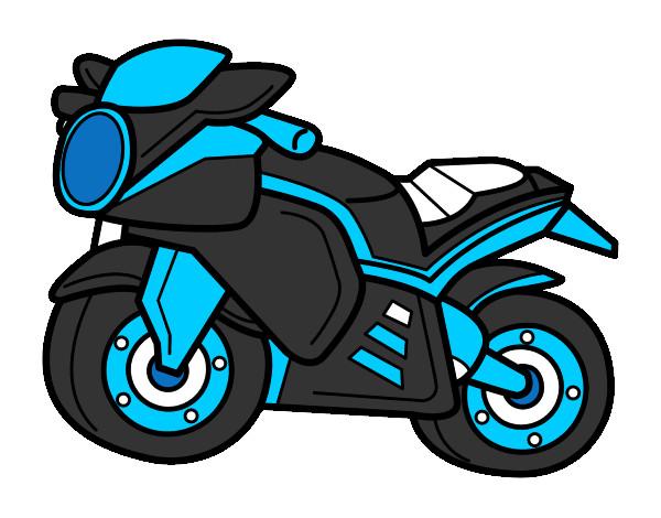 Dibujo De Moto Deportiva Pintado Por Lamuerte En Dibujosnet El Día