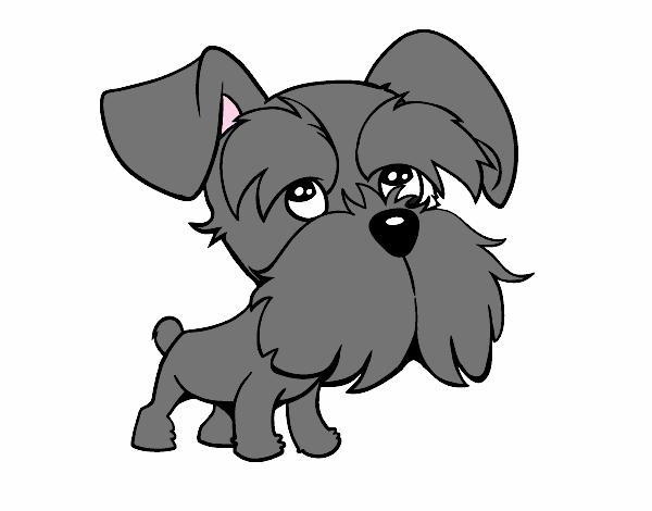 Dibujo De Echo Por Luna Mi Perro Va A Tener Bebes Pintado Por En