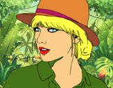 Taylor Swift con sombrero
