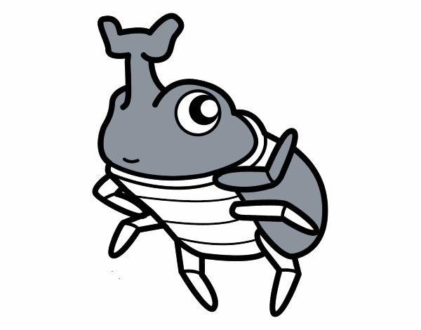 Dibujo de Escarabajo rinoceronte pintado por en Dibujos.net el día ...