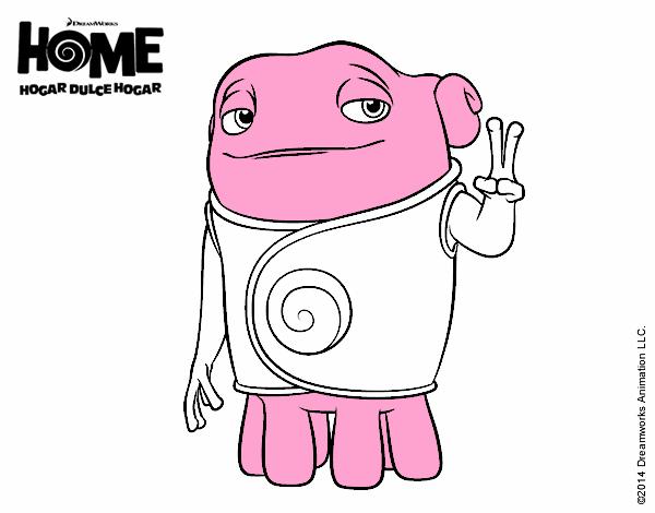 Dibujo de Home - Boov Oh pintado por en Dibujos.net el día 28-04-15 ...