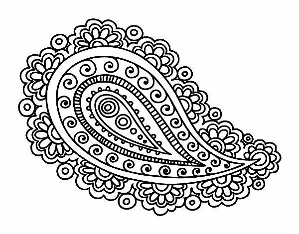 Dibujo De Mandala Lagrima Pintado Por En Dibujos Net El Dia 27 04 15