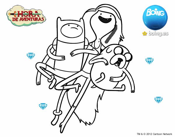 Dibujo de Volando con Marceline pintado por en Dibujos.net el día 05 ...