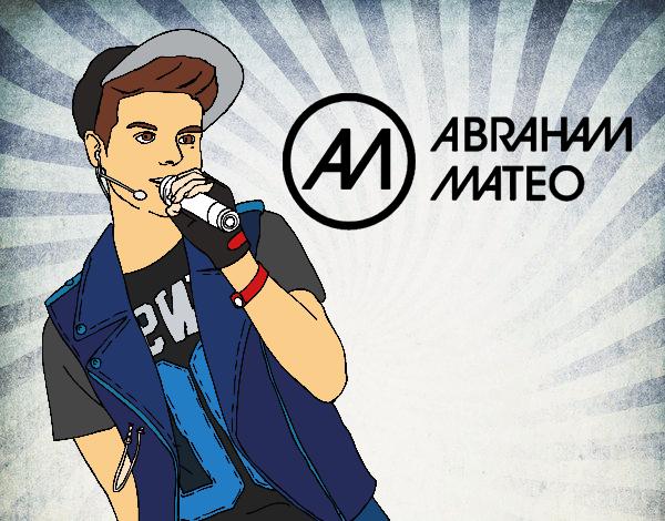 Dibujo de Abraham Mateo cantando pintado por Anto22 en Dibujos.net ...