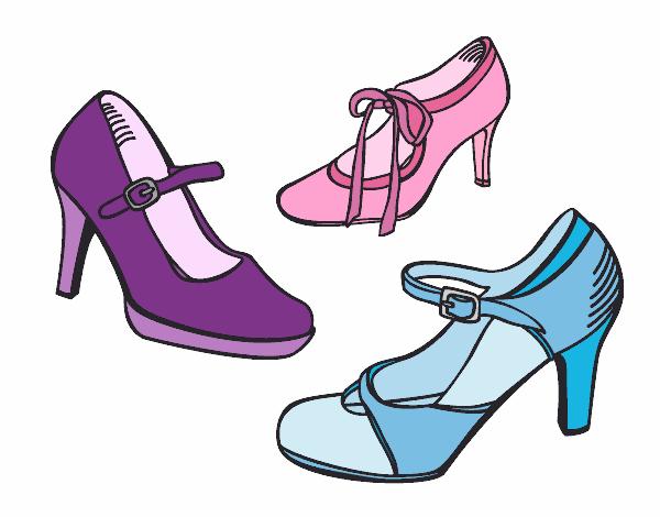 De 05 En Dibujo Pintado Día 11 Salón Zapatos El Por zqMpSUV