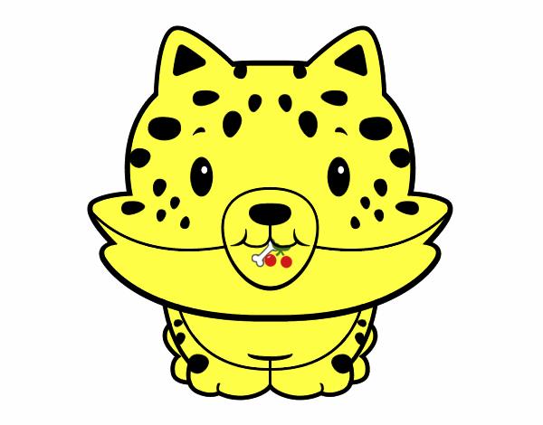 Dibujo De Jaguar Bebe Pintado Por En Dibujosnet El Día 18 05 15 A