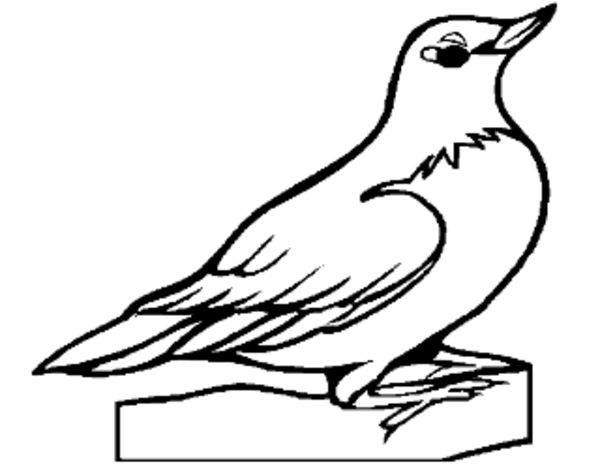 Dibujo de Petirrojo pintado por en Dibujos.net el día 22-05-15 a las ...