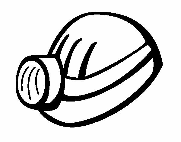 Dibujo De Casco De Minero Pintado Por En Dibujosnet El Día 09 06 15