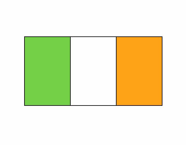 Dibujo de La Bandera De Irlanda pintado por Hannis28 en Dibujos.net ...