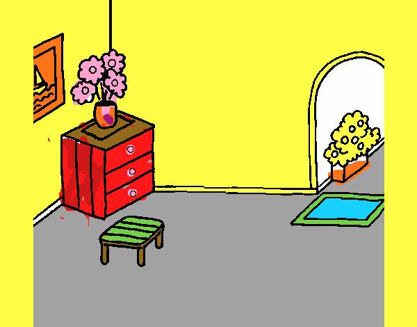 Dibujo De Casa Por Dentro Pintado Por En Dibujosnet El Día 24 07 15