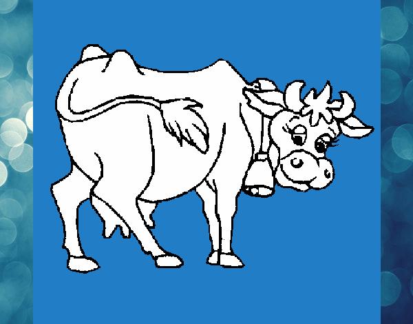 Dibujo De La Vaca Lola Pintado Por En Dibujos Net El Dia 31 07 15